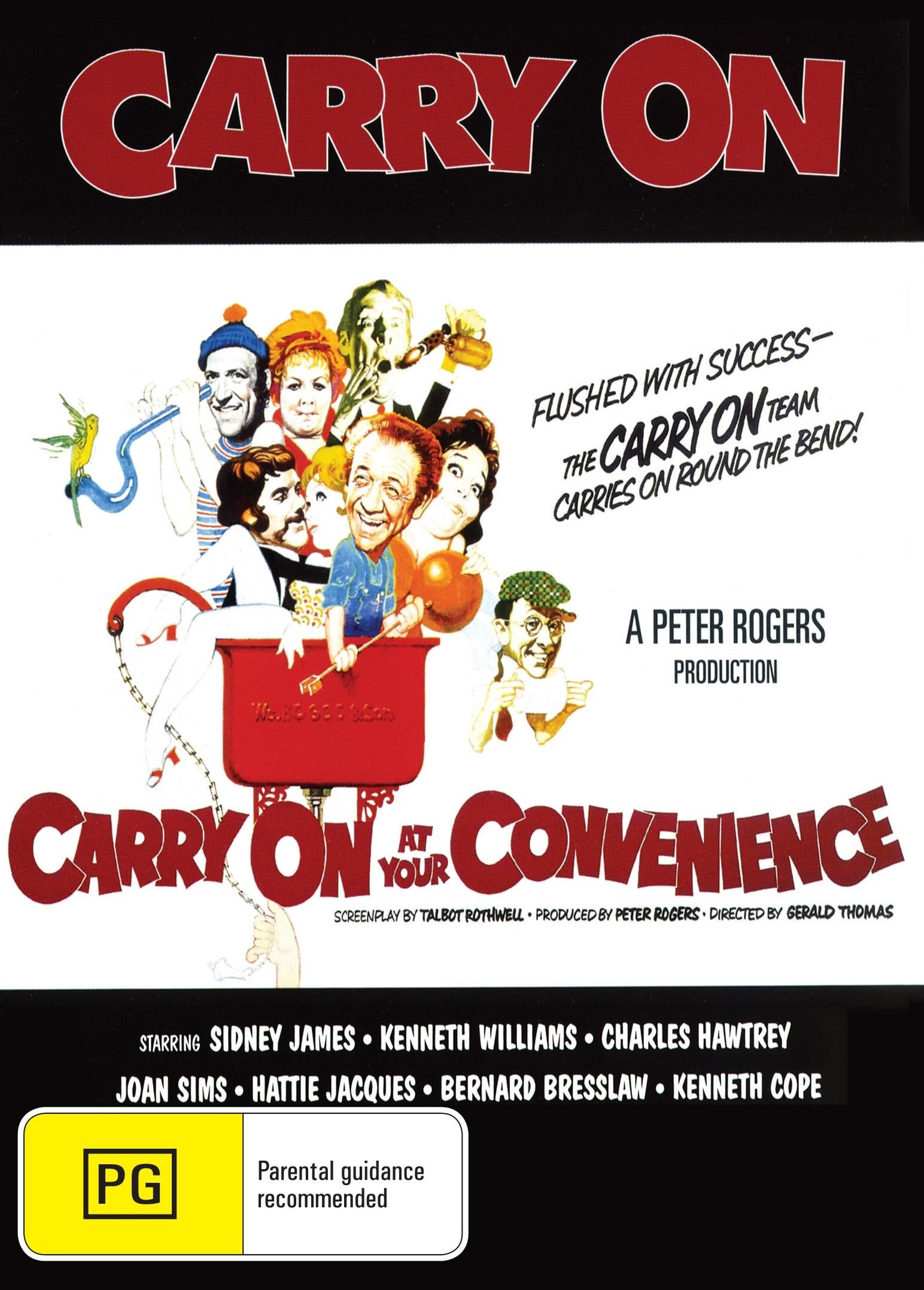 Carry On at Your Convenience